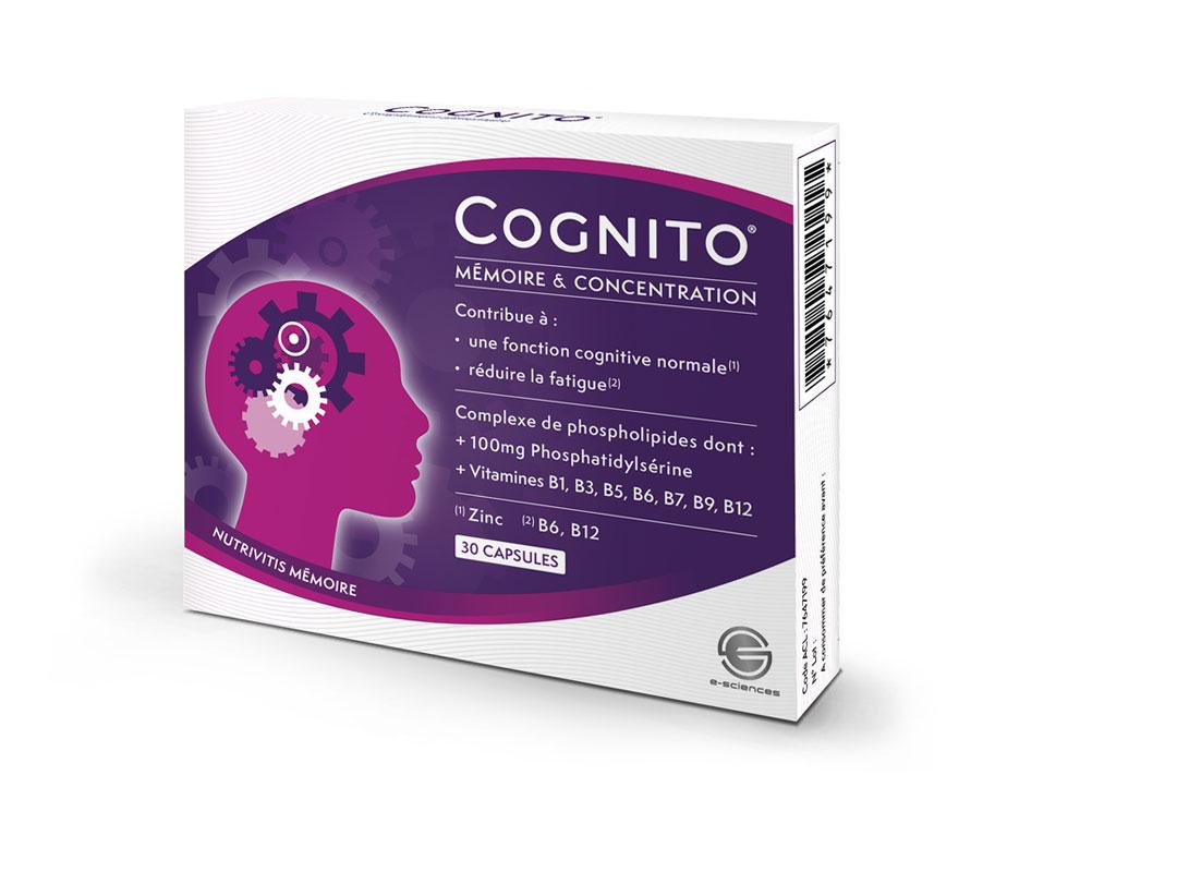 Cognito mémoire complement alimentaire